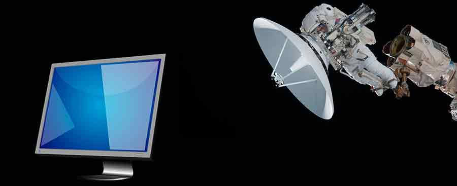 Internet Satellite Television